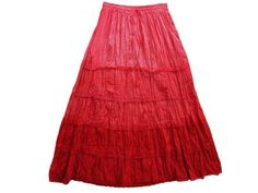"Women Bohemian Skirt Gypsy Long Skirts Crimson Red Lace Work Cotton Skirt 38"" Mogul Interior, http://www.amazon.com/dp/B0098FZZT4/ref=cm_sw_r_pi_dp_LbCtqb1C6N7Y3$24.99"