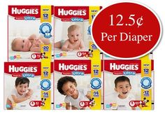 Walmart has Huggies Snug & Dry Ultra Diapers Big Pack for only $14.00 as the Value of the Day! These diapers can be picked up at your local store for free or you can get free shipping to your home with any $35 purchase. Count will vary by size.