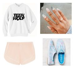 """Untitled #241"" by sshedenah ❤ liked on Polyvore featuring Skin and Keds"