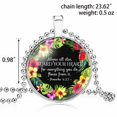 Christian Necklace Religious Bible Verse Gift Jewelry Cooling Mattress, Religious Jewelry, Jewelry Gifts, Bible Verses, Christian, Christians, Scripture Verses, Bible Scriptures, Scriptures