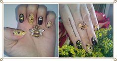 Unghiutze colorate-Happy nails: Alphabet nail art challenge - Letter H