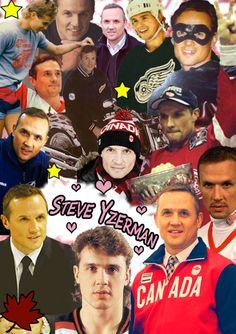 Steve Yzerman Hot Hockey Players, Nhl Players, Hockey Teams, Sports Teams, Steve Yzerman, Red Wings Hockey, Detroit Sports, State Of Michigan, Hockey Mom