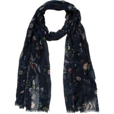 Fat Face Ff Wildflower Scarf Navy - my most used scarf, love it Fat Face, Just In Case, Wild Flowers, Florals, Give It To Me, Navy, Clothing, Polyvore, Stuff To Buy
