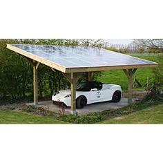 Get off the grid! The Tesla can have its own solar power home!!! Love this!!!