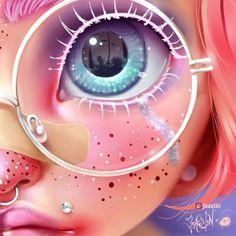 Yashatovah by JoAsLiN on DeviantArt Photo Triste, Donia, Unicorn Art, Digital Art Girl, Anime Art Girl, Art And Illustration, Illustrations, Cartoon Art, Cute Drawings