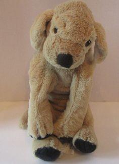"Ikea Gosig FLOPPY Dog Stuffed Golden Retriever 14"" Plush Used Pre Owned Puppy #Ikea"