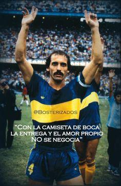 """""""El Tano"""" Pernía por @MundoXeneize: """"Con la camiseta de #Boca: la entrega y el…"""