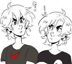 Keith(voltron) meets nico di Angelo(heroes of Olympus