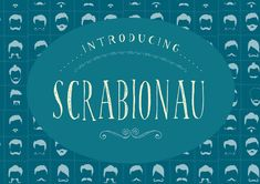 Scrabionau Font by Patchpo Graphics on @creativemarket