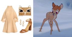 You Pretty Much Need These 14 Novelty Bags to Complete Your Next DisneyBound Look   Bambi-inspired outfit + Betsy Johnson deer purse   [ http://di.sn/6000B7fNi ]