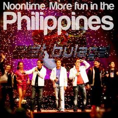 NOONTIME. More FUN in the Philippines!