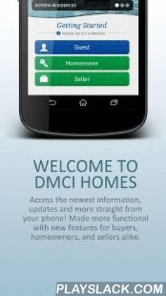 DMCI Homes  Android App - playslack.com ,  As the Philippines' pioneer builder-developer of quality, resort-inspired family-oriented communities, DMCI Homes presents an all-in-one app that makes urban living easier for homeowners and sales agents alike – whether it's about finding the perfect condominium or house-and-lot development for the or downloading important data. From potential buyers to our valued homeowners and residents, you'll get the right news information and updates faster…