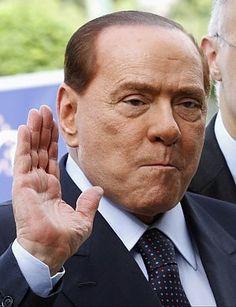 Altra immagine di Berlusconi su Repubblica.it #Adoro