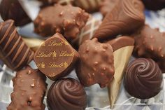 Lindt chocolate mix #food #chocolate