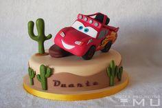 doces projectos MU: Bolo Duarte_Cars Off Road Mcqueen_Dezembro 2014