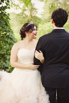 {Real Plus Size Wedding} Classic Garden Wedding | This is You By Mark and Tracy