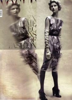 kamila filipcikova - by steven meisel - for vogue italia by fashion.inspiration, via Flickr