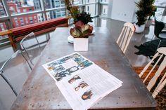 New York Fashion Week Spring Summer 2015 // ICB Presentation // #NYFW FW15 // Apartment Interior Design