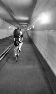 Fietstunnel maastunnel | Charlois | Rotterdam | The Netherlands