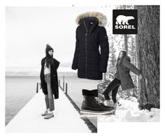 """""""Tame Winter with SOREL: Contest Entry"""" by nanalexia on Polyvore featuring SOREL and sorelstyle"""