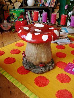 mushroom stool video game theme custom furniture. Delighful Video Mushroom Stool Video Game Theme Custom Furniture  Inside Mushroom Stool Video Game Theme Custom Furniture
