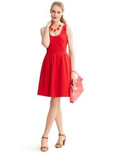 Rock the Red spring dress!