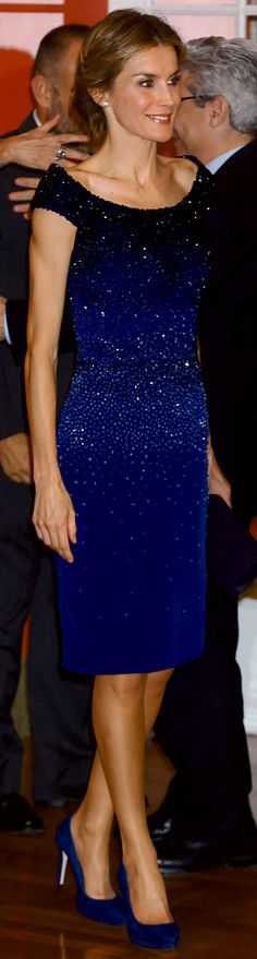 La Reina Letizia en el 25 Aniversario de El Mundo... Queen Letizia of Spain