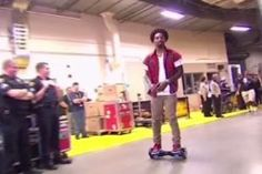 J.R. Smith Shows Up to NBA Finals Game 4 on PhunkeeDuck, Nearly Wipes out | Bleacher Report