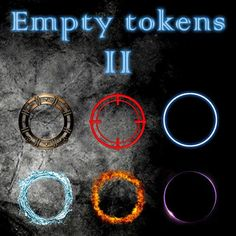 Empty Tokens Pack 2 | A premium selection of all-purpose generic tokens.  https://marketplace.roll20.net/browse/set/694/empty-tokens-pack-2