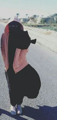Niqab outfits for winter. Hijab Niqab, Muslim Hijab, Mode Hijab, Islamic Fashion, Muslim Fashion, Modest Fashion, Hijabi Girl, Girl Hijab, Niqab Fashion