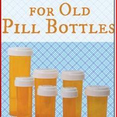 30 Simple But Beautiful Pill Bottle Crafts Ideas #BottleCrafts