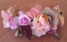 Media Corona de flores