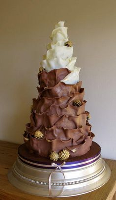 Chocolate wrap cake - Cake by Aleshia Harrison: for the love of cakes