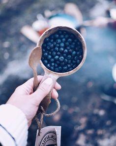 Mustikka season . . . . . . . #blueberry #bilberry #finland #visitfinland #mustikka #kupilka #summerevening