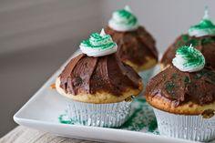 Mint Chocolate Cupcakes (vegan)