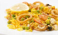Паэлья с курицей и морепродуктами - пошаговый рецепт с фото