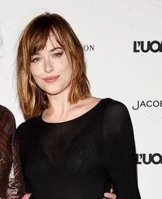 "Dakota Johnson attends ""Being The Protagonist – The Magic Of Cinema From The Best Covers Of L'Uomo Vogue"""