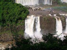 Iguazu Falls, absolutely gorgeous.