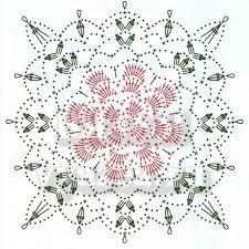 Картинки по запросу цветочные квадратные мотивы крючком