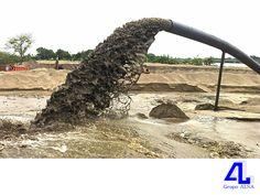 #ConstructoraVeracruz En Grupo ALSA, ofrecemos servicios de dragado. LA MEJOR CONSTRUCTORA DE VERACRUZ. Realizamos la limpieza de rocas y sedimentos en cursos de agua, lagos, bahías y accesos a puertos, para aumentar la profundidad de un canal o río con el fin de acrecentar la capacidad de trasporte de agua y facilitar el tráfico marítimo, utilizando diferentes tipos de dragas. Le invitamos a conocer los proyectos que hemos realizado, ingresando a nuestra página en internet…