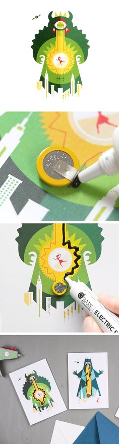 Make your own greeting cards and impress your friends and family! Easy to follow steps.
