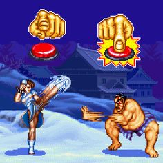Button Mash: Chun-Li vs. E. Honda