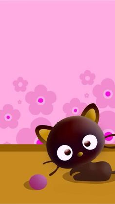 Funny wallpaper iphone tela pinterest funny wallpapers chococat chococat was first released in 1996 and his birthday is may his whiskers are able to pick up information like antennae so he is often the first voltagebd Choice Image