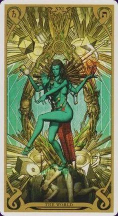 The World Tarot Card #tarotcardsmeaning #readingtarotcards