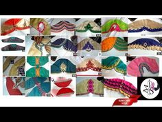 awesome sleeves designes 2018 // 25 above Beautiful back neck blouse designs collection This video will show you how to create a beautiful and simple way MMS Latest Blouse Back Neck designs Easy Cutting and. Chudi Neck Designs, Stylish Blouse Design, Blouse Back Neck Designs, Fancy Blouse Designs, Bridal Blouse Designs, Hand Designs, Sleeve Designs, Churidar Neck Designs, Sewing Sleeves