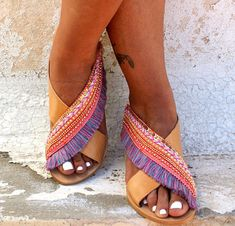 Boho sandals fashion trend: Savannah sandals by Mago Sisters