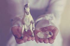 Un petit cheval blanc...