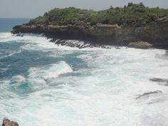 Bukit karang bagian barat pantai jogan# wow