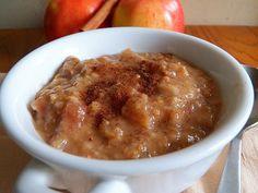 Apple Pie Breakfast - Overnight Oatmeal (Slow-Cooker)