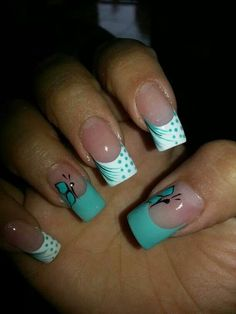 Uñas by kayla Sexy Nails, Fancy Nails, Love Nails, Pretty Nails, French Nail Art, French Tip Nails, Cute Nail Art, Beautiful Nail Art, Finger Nail Art